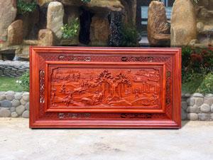 Tranh gỗ Đồng Quê 1m27 - TGPX2117