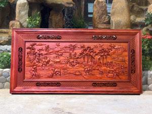 Tranh gỗ Đồng Quê 1m97 - TGPX2036