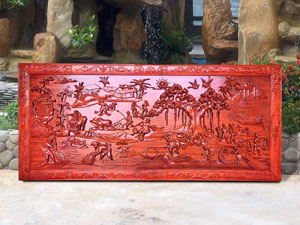 Tranh gỗ Đồng Quê cao cấp - TGPX2152