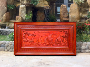 Tranh gỗ Thuận Buồm Xuôi Gió 1m27 - TGPX2154